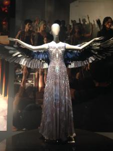 The Mockingjay dress from Hunger Games