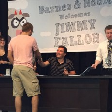 Meeting Jimmy Fallon