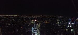 Pano from atop Empire State