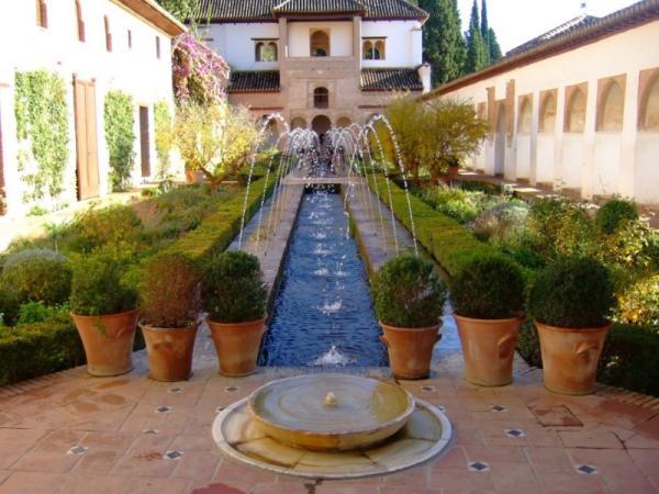 11 types of gardens - Arab Garden