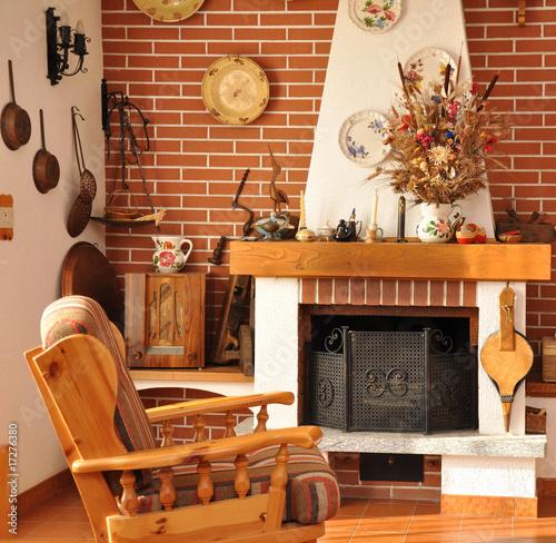 interno di casa di campagna Immagini e Fotografie Royalty Free su Fotoliacom  File 17276380