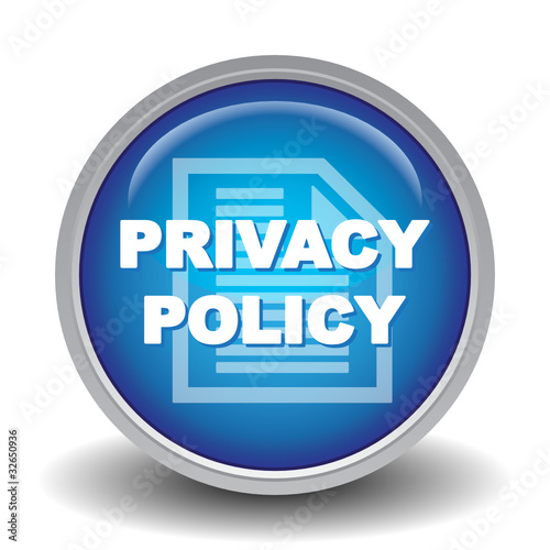 PRIVACY POLICY ICON Stock image and royaltyfree vector files on Fotoliacom  Pic 32650936