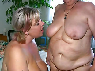amatuer granny threesomes