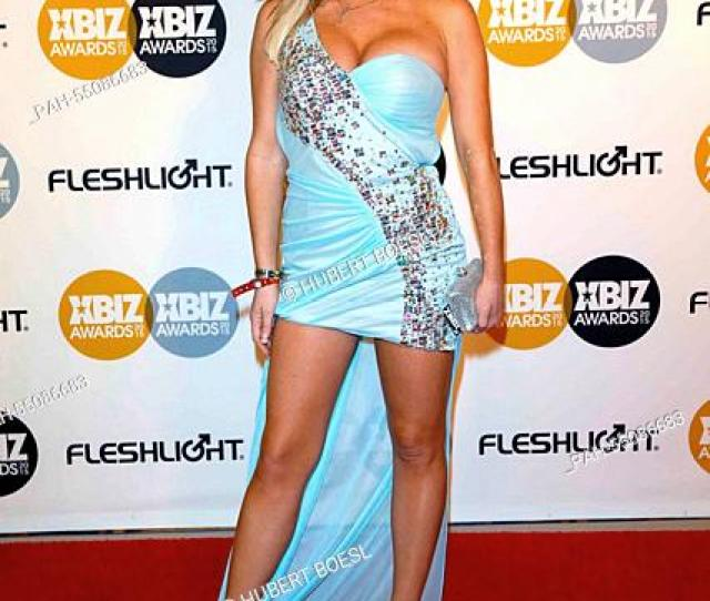 Adult Film Actress Tasha Reign Arrives At The 2015 Xbiz Awards In Los Angeles Usa