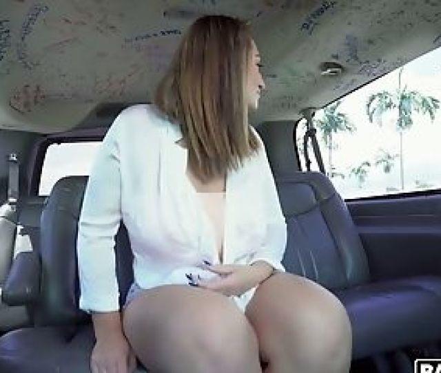 Hot Like Fire Latina Britt James Gets Penetrated Decently In The Van
