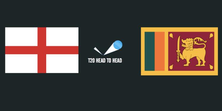 England vs Sri Lanka T20 head to head