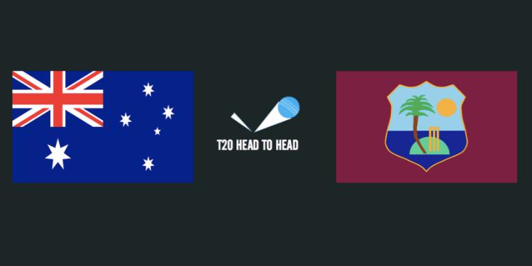 AUS vs WI T20 head to head
