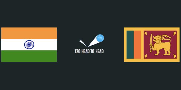 India IND vs SL Sri Lanka T20 head to head
