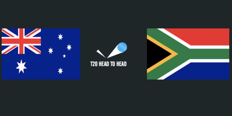Australia vs South Africa T20 head to head record