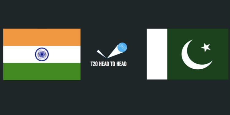 India vs Pakistan T20 head to head