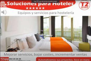 T2app Productos y servicios para hostelería