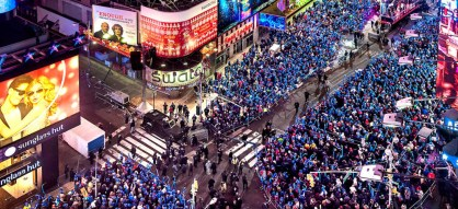 Image result for New Years Eve in times square 2016