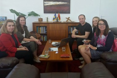 Meeting Salzburg University of Applied Science Delegation