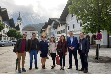 T2P National Partners Attend Workshops at University of Applied Sciences (FHS) Salzburg/ Austria