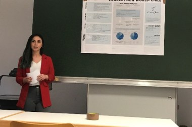 Updates from Fitore Fetahi on her mobility at Geisenheim University