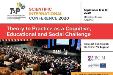 "The ""Theory to Practice as a Cognitive, Educational and Social Challenge"" Conference – 17th and 18th of September"