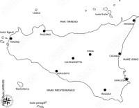 """""""cartina sicilia"""" Immagini e vettoriali Royalty Free su ..."""