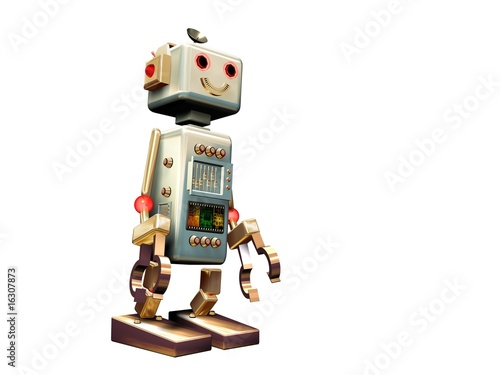 funny cute robot toy