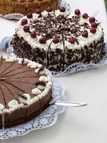 Schwarzwlder Kirsch Torte Stockfotos und lizenzfreie