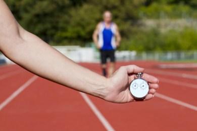 Stop watch runner