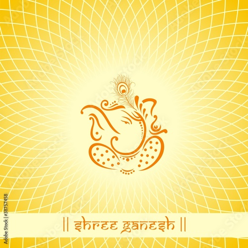 Ganesh Traditional Hindu Wedding Card Design India