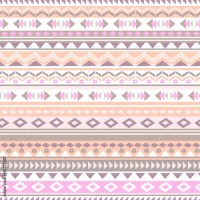 """Pastel aztec zigzag seamless background"" Stock image and ..."