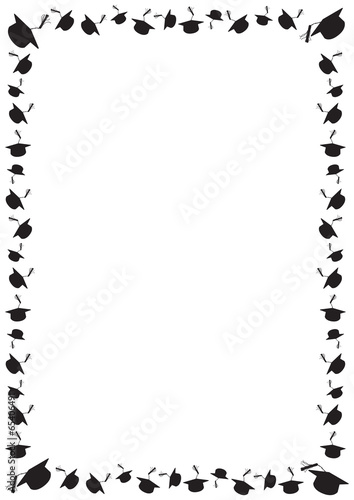 Graduation Boarder 2016 Coloring Pages And Frames Coloring