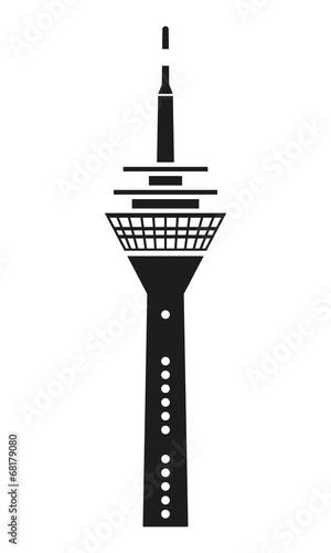 """""""Düsseldorfer Fernsehturm"""" Stockfotos und lizenzfreie"""