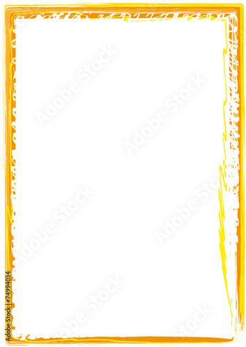 Weihnachten Rahmen gelb Stockfotos und lizenzfreie