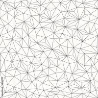 """Triangles background, seamless pattern, line design ..."