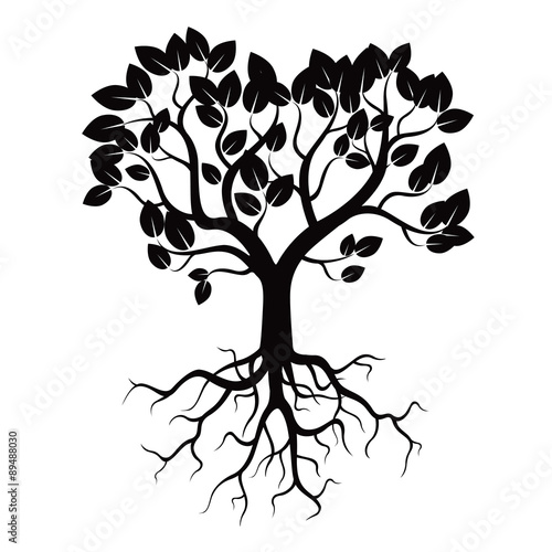 Family Tree With Roots Svg