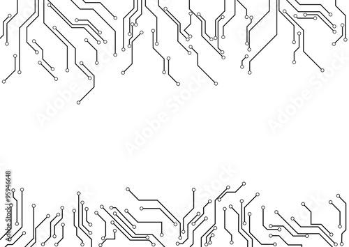 electronic circuit design vector