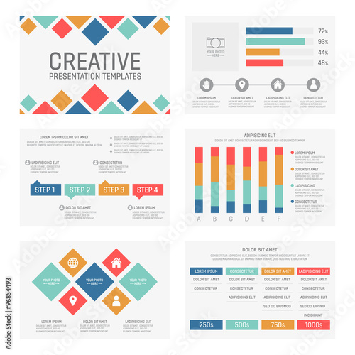 """Vector Template For Multipurpose Presentation Slides With"