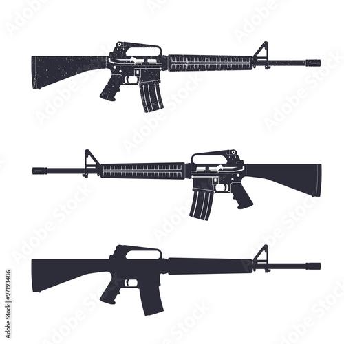 m16 assault rifle 5