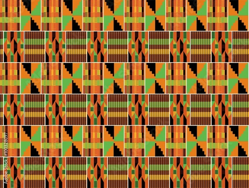 """""""Kente Fabric Background """" Stock image and royalty"""