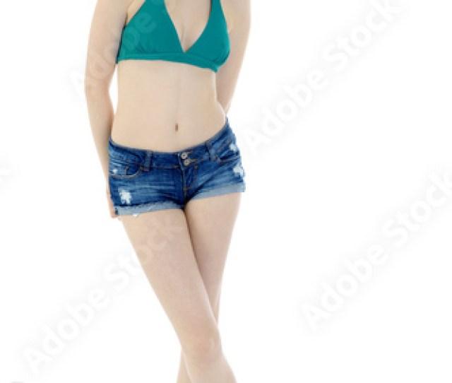 Teen In Bikini Und Hot Pants