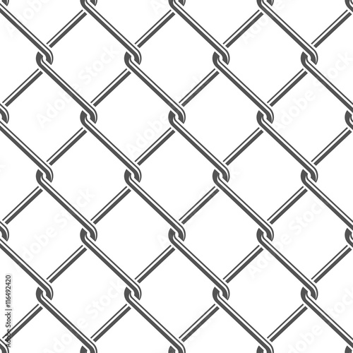 seamless detailed chain link