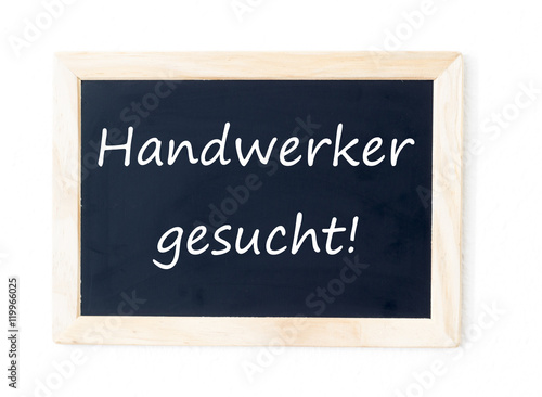 """handwerker Gesucht"" Stock Photo And Royaltyfree Images"