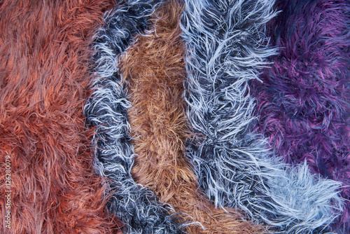 quotMulticolored wool yarn Texture backgroundquot Stock photo