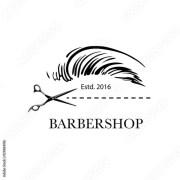 """logo barbershop hair salon"