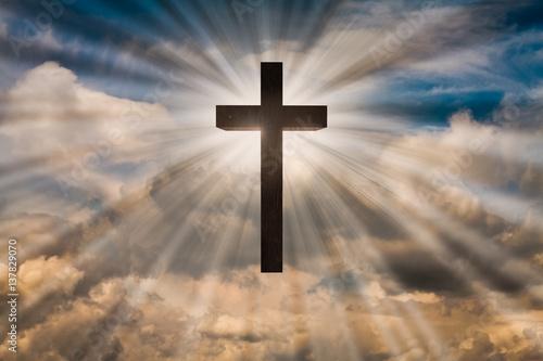 jesus christ cross on