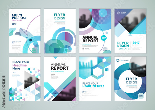 """Brochure Annual Report Flyer Design Templates In A4"