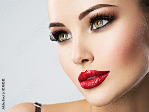 Cute Baby Girl Doll Wallpaper Quot Pretty Face Of A Woman With Beautiful Eyes Quot Stock Photo