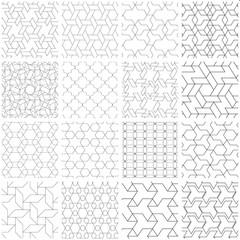 Photos, illustrations et vidéos de triangle seamless pattern