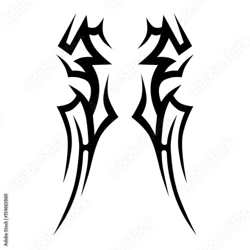 tattoo tattoo tribal vector