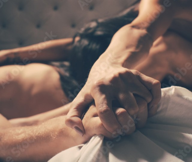 Sensual Passionate Couple Kissing Boy And Girl Having Sex Young Lovers People In Love Positions Kamasutra Erotic Moments Concept Photo Secret