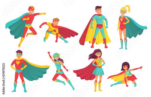cartoon superhero characters female