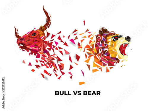 bull and bear symbols