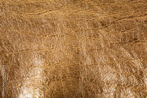 gold foil texture bronze