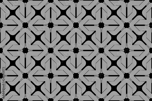 vector square seamless pattern